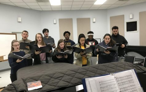 Averett Singers, A Musical Backdrop for Campus