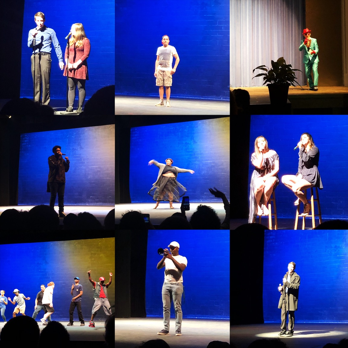 Students, faculty and staff all participated in the talent show held on March 14.