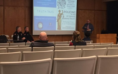 TRUTH Talk Informs Students on Danville Police Department's Policing Techniques