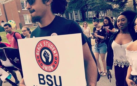 The Black Student Union Club Holds a Unity Walk Event