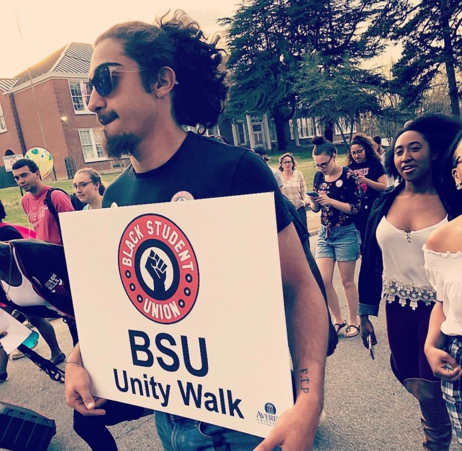 BSU+members+walking+for+the+Unity+event