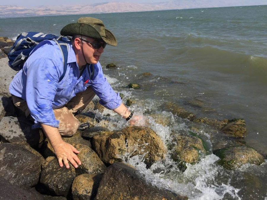 Dr.+Ralph+Hawkins+has+made+between+20+to+25+trips+to+the+Jordan+Valley+area+to+pursue+archaeological+research.