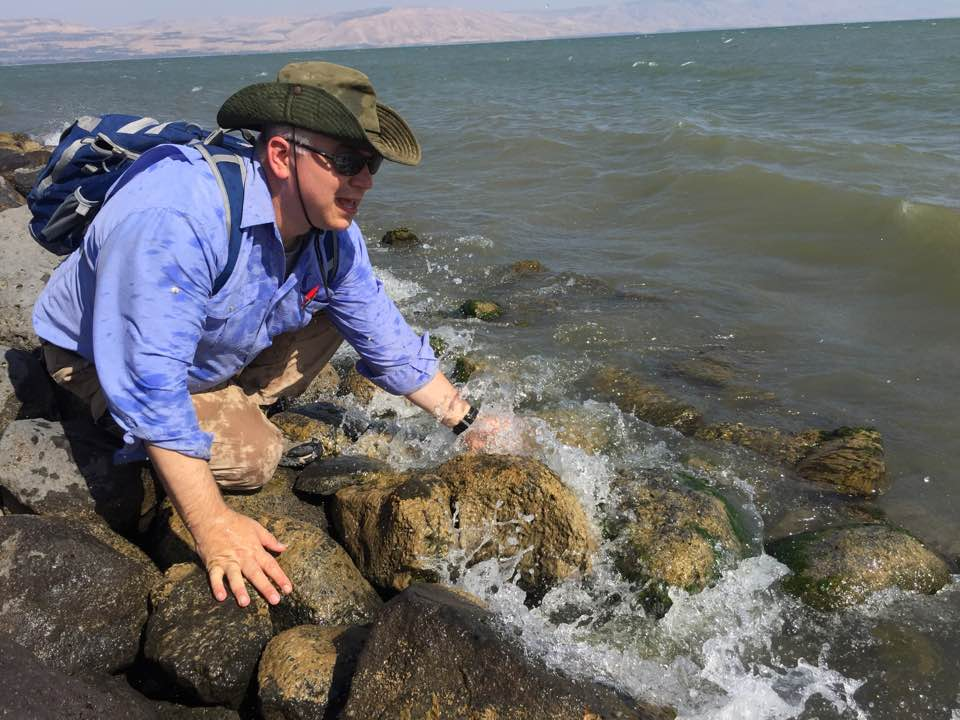 Dr. Ralph Hawkins has made between 20 to 25 trips to the Jordan Valley area to pursue archaeological research.