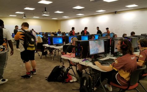 Averett at the Harrisburg Esports Festival