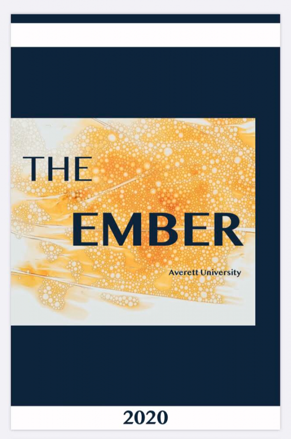 The Ember's Magazine cover for 2019-20.
